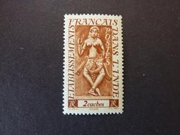 ETABLISSEMENTS FRANCAIS EN INDE, Année 1948, YT N° 237 Neuf MH - India (1892-1954)