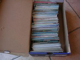 LOT DE + DE 700 CARTES POSTALES 10X15 ( VRAC ) - Cartoline