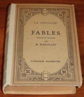 Livre LES FABLES DE LA FONTAINE - 1955 - Edition Hachette / 24 - Franse Schrijvers