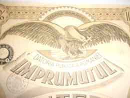 DATORIA PUBLICA A ROMANIEI - Hist. Wertpapiere - Nonvaleurs