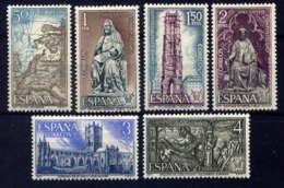 ESPAGNE - 1663/1668** - ANNEE DE St JACQUES DE COMPOSTELLE - 1971-80 Nuovi