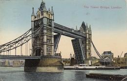 LONDON - The Tower Bridge, Gel.193? - Sonstige