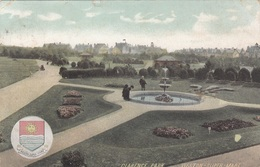 WESTON SUPER MARE - Clarence Park, Gel.1909 - England