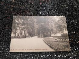 Park Met Ingang Der H. B. School. 's Hertogenbosch, Non Circulée  (Z6) - 's-Hertogenbosch
