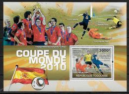 TOGO   BF 408  * *   ( Cote 17e ) Cup 2010  Football Soccer Fussball Iniesta Stekelenburg - Fußball-Weltmeisterschaft