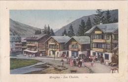 CPA :  14 X 9  -   J. J. 9023   -  Morgins  -  Les  Chalets. - VS Valais