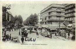 DEPT 13 : Précurseur édit. E Lacour N° 9 : Marseille Le Cours Belsunce - Canebière, Centre Ville