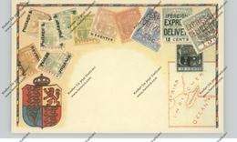 MAURITIUS, Stamp Card, Embossed, REPRO - Mauritius