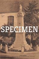 Gedenkteken Der Oorlogsslachtoffers 1914-18 - Zwevegem - Zwevegem