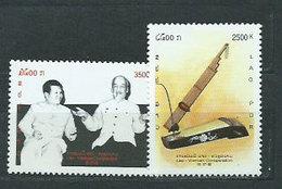 Laos - Correo 2002 Yvert 1455/6 ** Mnh - Laos