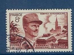 """FR YT 942 """" Général Leclerc """" 1953 Oblitéré - Francia"""