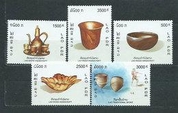 Laos - Correo 2003 Yvert 1506/9 ** Mnh - Laos