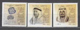 Kuwait - Correo 2001 Yvert 1607/9 ** Mnh  Fundaci�n Ankaf - Kuwait