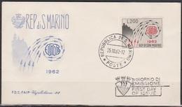 San Marino 1962 FDC Mi-Nr.749  Europa ( D3875 )günstige Versandkosten - FDC
