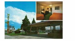 BOZEMAN, Montana, USA, Mountain View Motel, Old Chrome Postcard - Bozeman