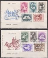 San Marino 1963 FDC Mi-Nr.764 - 773 Turniere Des Mittelalters ( D3876 )günstige Versandkosten - FDC