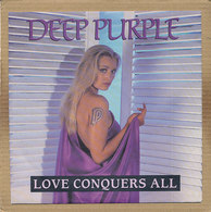 "7"" Single, Deep Purple - Love Conquers All - Rock"