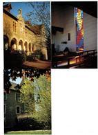 Lot 3 Cpm - 71 - SAINT MARTIN BELLE ROCHE - CARMEL SAINT JOSEPH - Couvent Chapelle Vitrail - Frankrijk