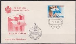 San Marino 1963 FDC Mi-Nr.781 Europa ( D4630 )günstige Versandkosten - FDC
