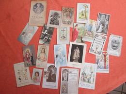 Lot D Images Pieuses . Alsace Region Schirmeck Annee 1934 A 1958 - Images Religieuses