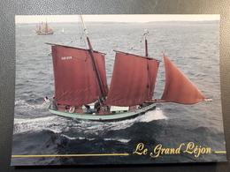 LES GRANDS VOILIERS VOILIER LE GRAND LEJON + - Velieri