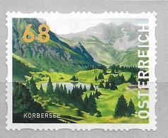 2018 Austria Österreich Mi. 5 **MNH Körbersee   Dispenserrollenmarken - 1945-.... 2ème République