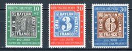 Allemagne   Y&T Bizone   76 - 78    X / XX   ---     Mi  113 - 115     ---    Très Faible Charnière Sur 113état. - Ongebruikt