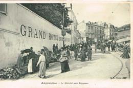 CHARENTE 16.ANGOULEME LE MARCHE AUX LEGUMES - Angouleme