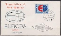 San Marino 1964 FDC Mi-Nr.826 Europa ( D2884 )günstige Versandkosten - FDC