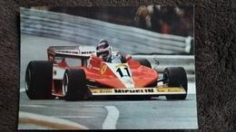 CPSM F 1 FERRARI 312 T 3 ED CECAMI 1034 PILOTE ET VOITURE DE COURSE AUTOMOBILE - Grand Prix / F1