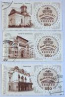 2009 550e Anniversaire De La Ville De Bucarest YT 5389-5391-5392 - 1948-.... Repúblicas