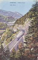 656/ Semmering Polleros-Tunnel, Kalte Rinne, Stoomtrein - Semmering