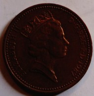 Grande Bretagne Great Britain Angleterre England 1987 1 Penny Elisabeth II - 1 Penny & 1 New Penny