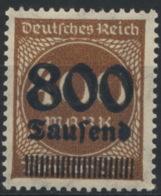 Deutsches Reich 305 ** Geschlossenes D - Germany