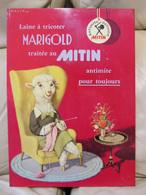 Laine à Tricoter MARIGOLD - Tôle Publicitaire - 34x24cm - Très Belle - Voir Détail - Other
