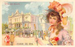 Spa - Carte Type Litho < 1900 - Spa
