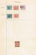 Tasmanie Stamp Duty à Identifier. Revenue. Ancienne Collection. Old Collection - Postzegels