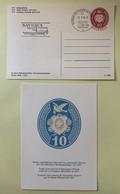 9867 - 2 Entiers Postaux 50 Jahre Ganzachensammler Verein  Neuf Et BPA Navigex Yverdon 17.09.1976 - Interi Postali