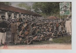 CBPNCPCF10/ Indo-Chine Saigon Cap St.Jacques Tirailleurs Annamites (Camp Des Marcs) à L'exercice Animée - Sonstige