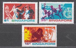 Singapur - Correo Yvert 160/2 ** Mnh - Singapore (1959-...)