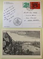 9870 - 2 Entiers Postaux Tembal 1983  Bâle Neuf Et Oblitération Tembal Circulée Pour Sochaux - Interi Postali