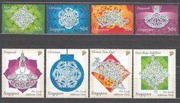 Singapur - Correo Yvert 1126/31 ** Mnh  Fiestas - Singapur (1959-...)
