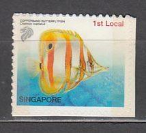 Singapur - Correo Yvert 1253B ** Mnh  Fauna Pez - Singapur (1959-...)