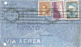 35418. Carta Aerea BUENOS AIRES (Argentina) 1938. Circulada VIA CONDOR - Argentina