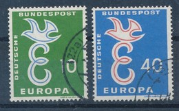 BRD Mi. 295 - 296 Gest. Europa Taube - Europa-CEPT