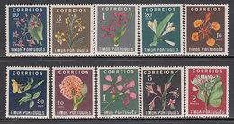 Timor - Correo Yvert 269/78 * Mh Flores - Timor Oriental