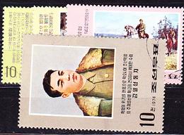 Korea (Nord North) - Szenen Aus Dem Leben Von Kim Il Sung (MiNr: 1322/5) 1974 - Gest Used Obl - Korea, North