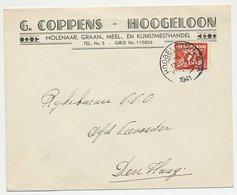 Firma Envelop Hoogeloon 1941 - Molenaar - 1891-1948 (Wilhelmine)