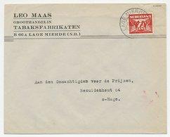 Firma Envelop Lage Mierde 1942 - Tabaksfabrikaten - 1891-1948 (Wilhelmine)