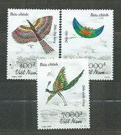 Vietnam Rep. Socialista - Correo 1999 Yvert 1804/6 ** Mnh  Fauna Aves - Vietnam